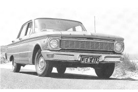 1965 Ford Falcon XP Sedan