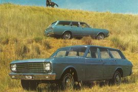 1968 Ford Falcon XT Wagon
