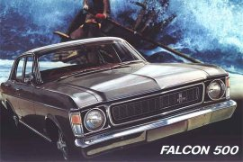 1969 Ford Falcon XW Sedan
