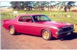 1976 Holden HX LE Coupe