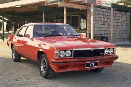 1977 Holden 4 Door HZ Monaro