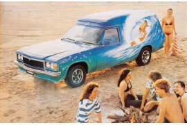 1977 Holden HZ Sandman