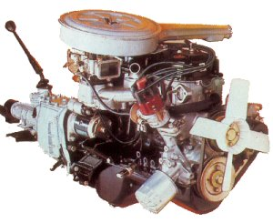 Holden Gemini 1600 OHC Engine