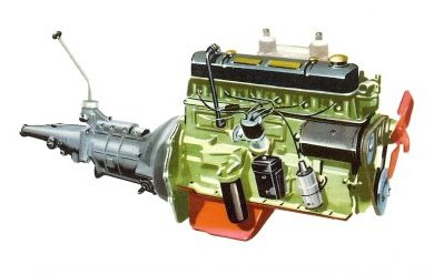 Wolseley 6/110 engine