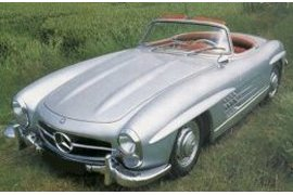 Mercedes Benz 300SL Roadster