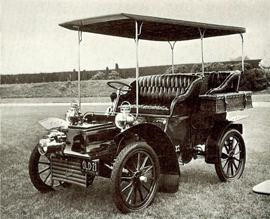 1904 Cadillac 9hp single cylinder 4 seater