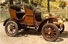 1906 4 seater Cadillac