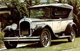 1925 Chrysler Six Phaeton