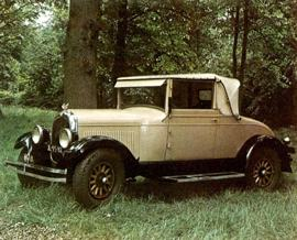 1926 Chrysler Six Roadster