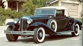 1934 Chrysler Custom Imperial Roadster