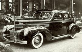 1938 Chrysler Custom Imperial Sedan