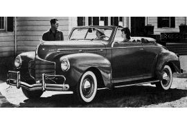 Dodge D-14 Luxury Liner DeLuxe Convertible