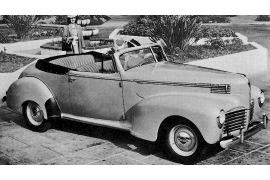 Hudson Eight Convertible Coupe