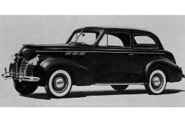 1940 Pontiac DeLuxe Two-Door Tourer
