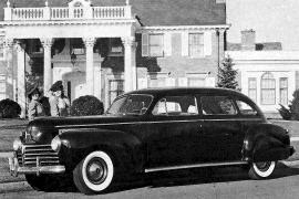 1941 Chrysler Crown Imperial C-33 Limousine