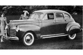 1941 Plymouth P-12 Special DeLuxe