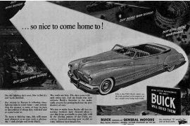 1942 Buick War Time Advertisement