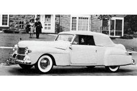 1942 Lincoln Continental 26H Cabriolet Model 56
