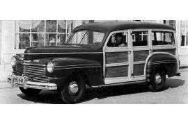 1942 Mercury 29A Station Wagon