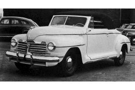 1942 Plymouth Special DeLuxe P-14C Convertible Coupe