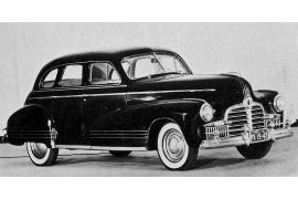1942 Pontiac Torpedo Eight Series 27 four-door Sedan