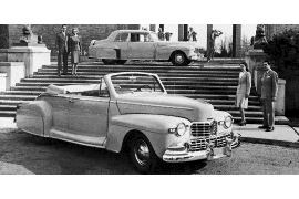 1946 Lincoln 66H Convertible Coupe