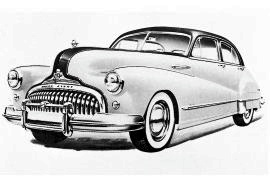 1948 Buick Super Series 50 Sedan