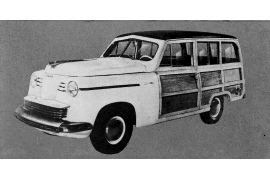 1948 Keller Super Chief Station Wagon