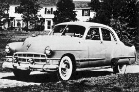 1949 Cadillac Series 62, Model 6269 Trunk Sedan