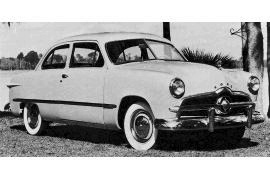1949 Ford Custom two-door Sedan