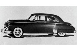 1949 Oldsmobile Series 76 DeLuxe Sedan