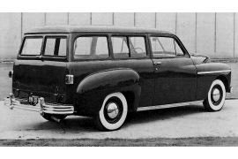 1949 Plymouth P-17 DeLuxe Station Wagon
