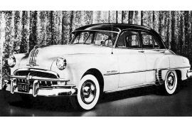 1949 Pontiac Silver Streak 8R Chieftain DeLuxe Sedan