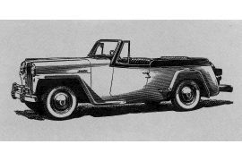 Willys Jeepster Phaeton