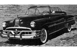 1951 Pontiac Silver Streak Chieftain Six DeLuxe Convertible Coupe