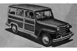 1951 Willys 473 Station Wagon