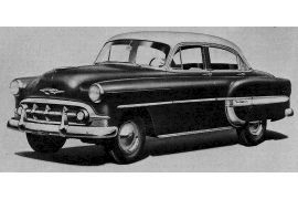 1953 Chevrolet Series 2400 Bel Air Sedan, Model 2403