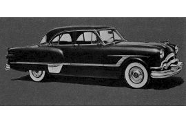 1953 Packard Patrician 400 six-passenger Sedan
