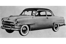 1953 Plymouth Cranbrook two-door Sedan