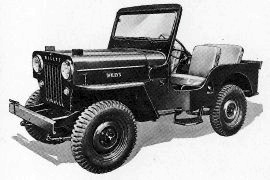 1953 Willys CJ3B Universal Jeep