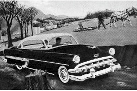1954 Chevrolet series 2400 Bel Air Sport Coupe