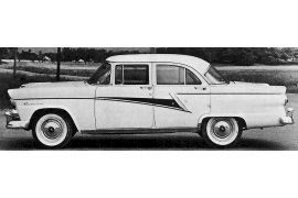 1955 Meteor Rideau four-door Sedan