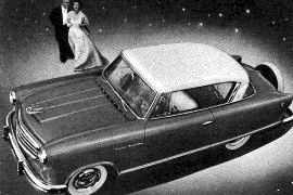 1955 Nash Rambler two-door Hardtop
