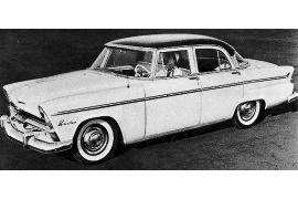 1955 Plymouth P-26-2 Belvedere Six