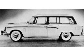 1955 Studebaker Commander V8 Regal Conestoga Ultra Vista Station Wagon