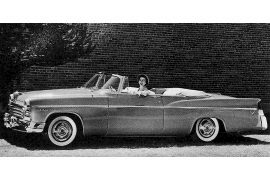 1956 Chrysler C-71 Windsor Convertible