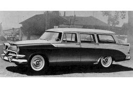 1956 Dodge Custom Sierra four-door Station Wagon