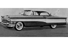 1956 Packard Clipper Super Hardtop Coupe