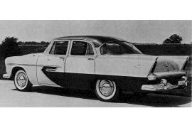 1956 Plymouth Belvedere V8 Sedan