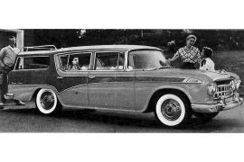 1956 Rambler Cross Country Station Wagon